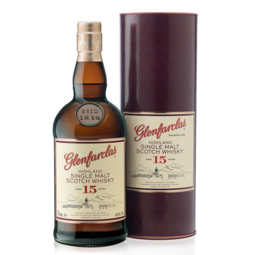 GLENFARCLAS 15 ÉVES  0,7 l, 46% SKÓT SINGLE MALT WHISKY