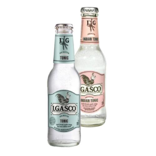 J.GASCO INDIAN TONIC SOFT DRINK 0,2 l,