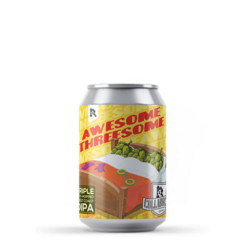 HORIZONT AWESOME THREESOME WEST COAST DIPA 0,33L dobozos
