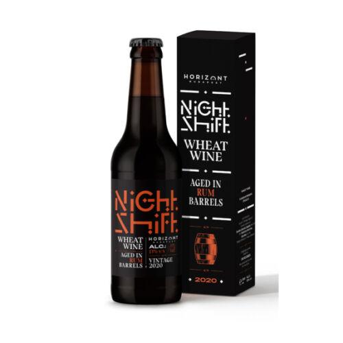 HORIZONT NIGHT SHIFT 2020 WHEAT WINE RUMOS HORDÓBAN ÉRLELVE 0,33L