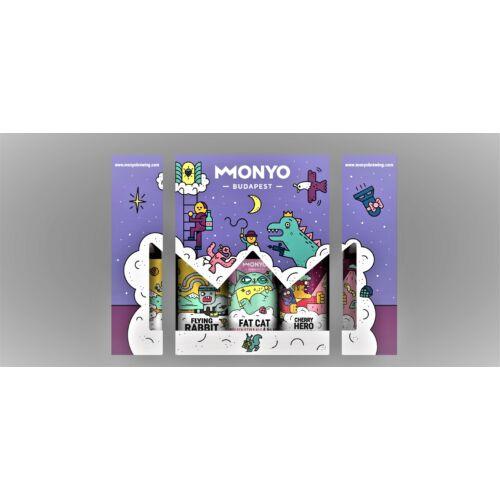 MONYO 3-AS CORE DÍSZDOBOZ